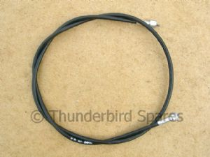 Speedo Cable, Triumph Thunderbird 6T 1965 only, Gearbox Speedo Drive, Magnetic Clock, D542, 60-0542